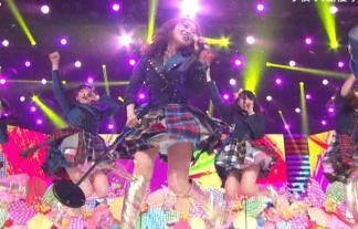 【パンチラ連発】大島優子AKB48のMステ出演を徹底的にエロ目線でキャプったらこうなったwwww 画像59枚